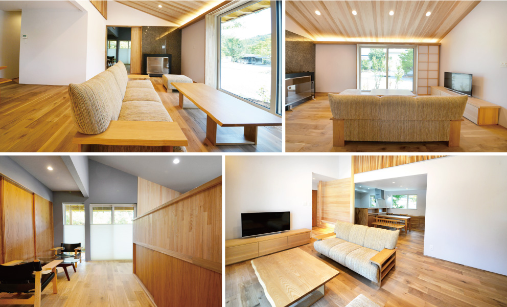 弥彦の平屋モデルハウス