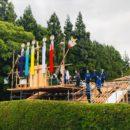 弥彦村にて上棟式を行いました。